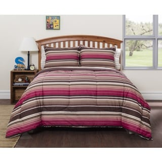 American Original Ryder Stripe 7-piece Bed in a Bag with Sheet Set