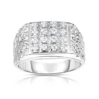 Noray Designs 14k Gold Diamond 1/2 ct TDW Men's Ring (I1-I2, G-H)
