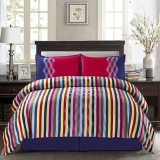 Wavelength Cotton 4-piece Comforter Set