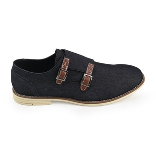 Unionbay Men's Preston Denim Monk Strap Shoe