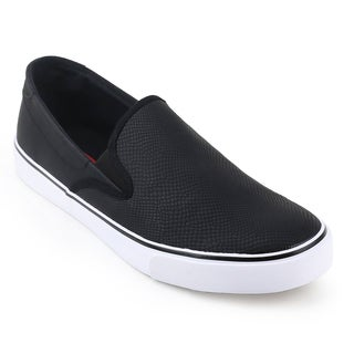 Unionbay Grayland Men's Black/White Slip On Sneaker