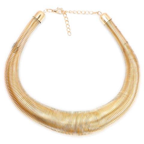Liliana Bella Goldplated Boho-style Bib Necklace