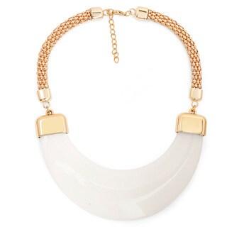 Liliana Bella Goldplated Cream Bib Necklace