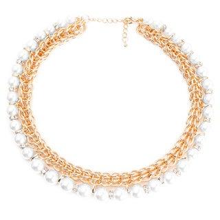 Liliana Bella Goldplated Glass Beads Choker Necklace