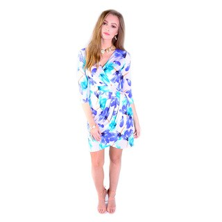 Hadari Women's Kelly Floral Print Dress