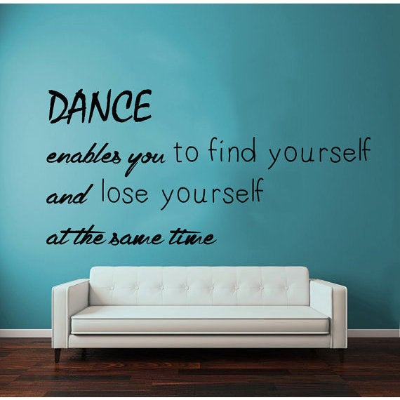 Shop Quotes Gym Dance Studio Wall Decor Vinyl Sticker Home Decor Art