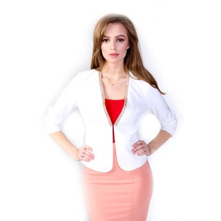Hadari Women's Casual Blazer Jacket