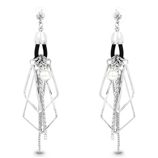 Liliana Bella Silver Chandelier Earrings