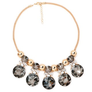 Liliana Bella Goldplated Rhinestone Choker Necklace