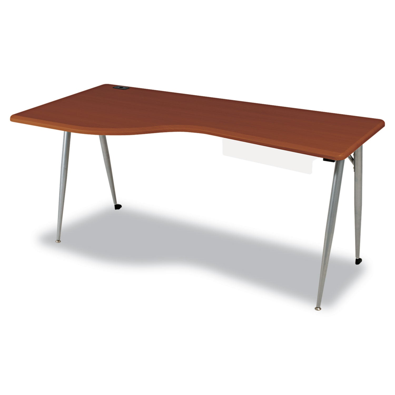 Balt iFlex Large Desk - Left - Cherry