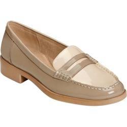 Women's Aerosoles Main Dish Loafer Tan Faux Patent