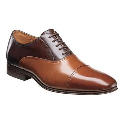 Men's Florsheim Corbetta Cap Toe Oxford Brown/Scotch Leather