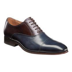 Men's Florsheim Corbetta Cap Toe Oxford Navy/Brown Leather