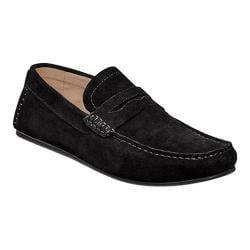 Men's Florsheim Denison Black Suede/Full Grain Leather