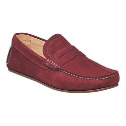 Men's Florsheim Denison Red Suede/Full Grain Leather