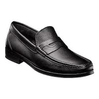 Men's Florsheim Westbrooke Penny Loafer Black Tumble Leather