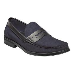 Men's Florsheim Westbrooke Penny Loafer Navy Multi Leather
