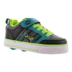 Boys' Heelys Bolt Plus X2 Black/Lime