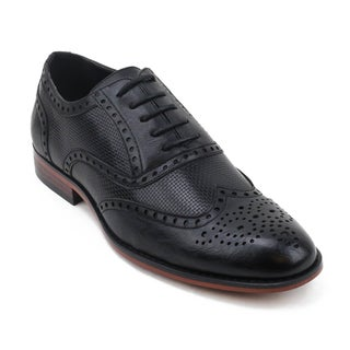 Xray Men's Speck Astor Faux Leather Wing-tip Shoe