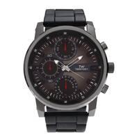 Territory Men's Large Round Case Link Bracelet Watch