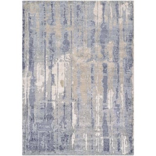Couristan Sagano Hidden Forest/Pearl-Slate Area Rug - 3'5 x 5'5