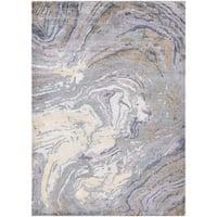 Couristan Sagano Mussel Shell Pearl Multicolor Area Rug - 8' x 11'