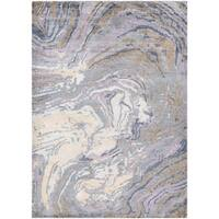 Couristan Sagano Muscle Shell/Pearl-Multi Area Rug - 5'6 x 8'
