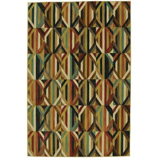 Mohawk Home Studio Quilted Multi Area Rug (8' x 10')