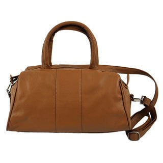 Piel Leather Mini Satchel Handbag