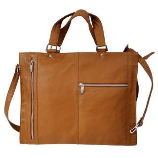Piel Leather Soft-sided Leather Shoulder Briefcase Handbag