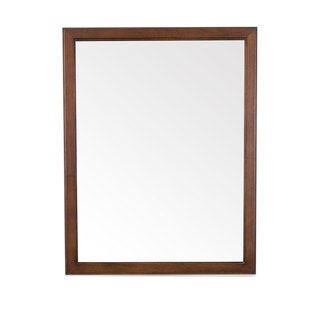 "Chloe Wood Framed Wall Mirror (30"" x 24"")"