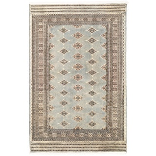 Herat Oriental Pakistani Hand-knotted Bokhara Wool Rug (4'7 x 7'2)