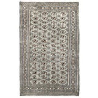 Herat Oriental Pakistani Hand-knotted Bokhara Wool Rug (5' x 7'11)