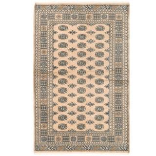 Herat Oriental Pakistani Hand-knotted Bokhara Wool Rug (5'1 x 8'2)