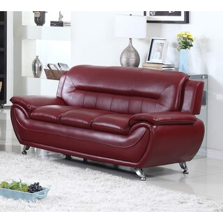 Buy Pillow Top Arms Burgundy Sofas Couches Online At Overstock
