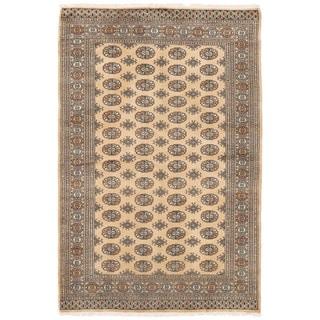 Herat Oriental Pakistani Hand-knotted Bokhara Wool Rug (5'2 x 8'1)
