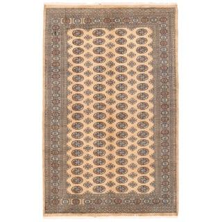 Herat Oriental Pakistani Hand-knotted Bokhara Wool Rug (5'3 x 8'4)