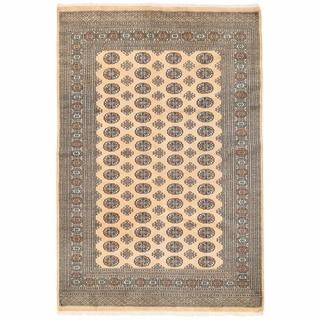 Herat Oriental Pakistani Hand-knotted Bokhara Wool Rug (5'11 x 8'9)