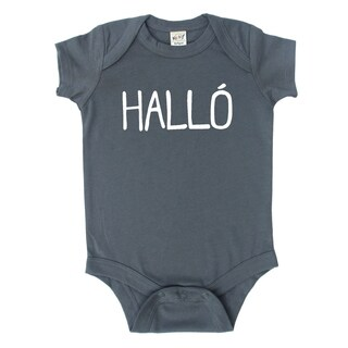 Rocket Bug Icelandic 'Halló' Baby Bodysuit