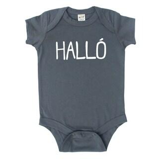 Rocket Bug Icelandic 'Hallo' Baby Bodysuit