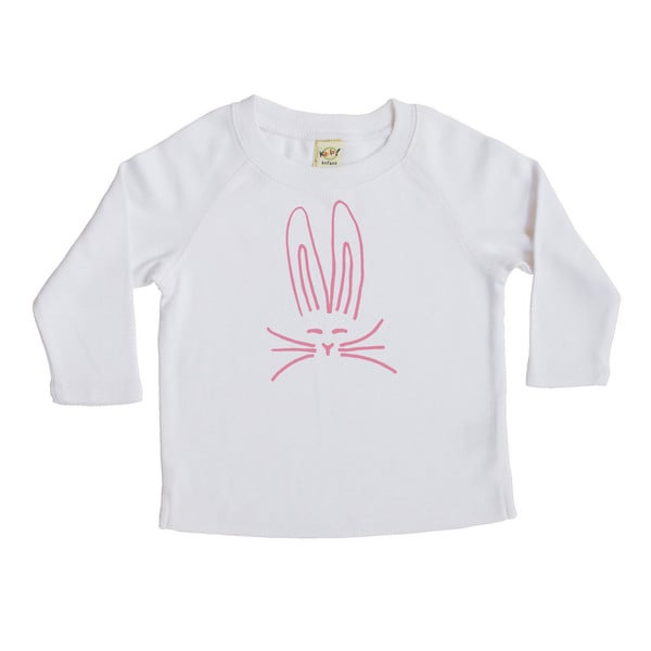 Rocket Bug Nordic Bunny Baby/Toddler/Youth Long Sleeve T-shirt