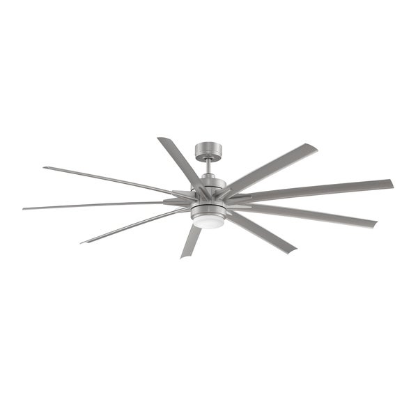 odyn - 84 inch ceiling fan with led - free shipping today