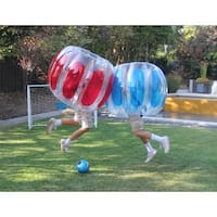 Sportspower Kid's Thunder Bubble Soccer Balls (Pack of 2)