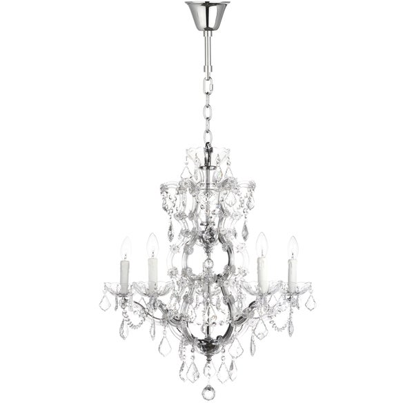Safavieh couture high line collection elsa crystal chandelier