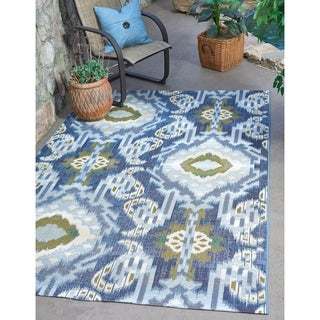 Unique Loom Union Outdoor Area Rug - 5' 3 x 8'