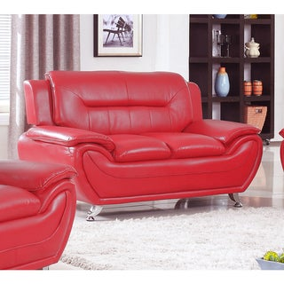 Deliah Relaxing Contemporary Modern Style Loveseat-3 colors