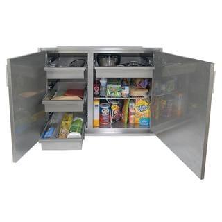Alfresco 42 X 21-Inch Low Profile Sealed Dry Storage Pantry