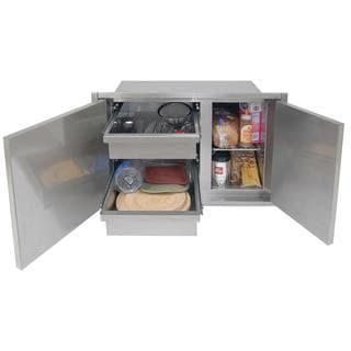 Alfresco 30 X 21-Inch Low Profile Sealed Dry Storage Pantry