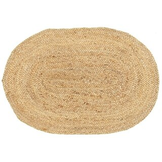 L and R Home Natural Jute Natural Indoor Accent Rug (2' x 3' )