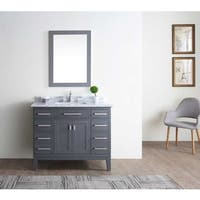 Danny Maple Grey 42-inch Single Bathroom Vanity Set
